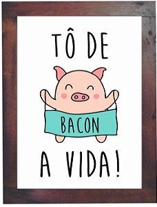 3093PG-023 Quadro Poster - Bacon