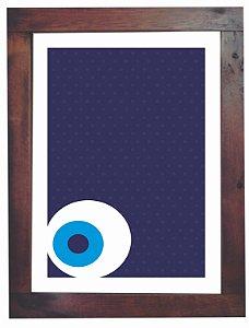 3093PG-025 Quadro Poster - Olho baixo