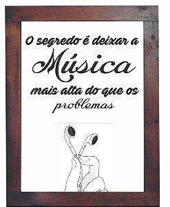3093PG-026 Quadro Poster - Música