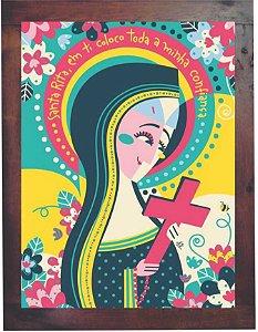 3093PG-028 Quadro Poster - Santa Rita