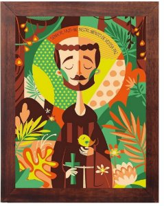 3093PG-030 Quadro Poster - São Francisco