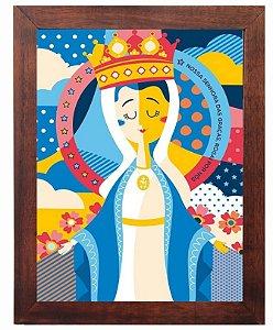 3093PG-033 Quadro Poster - Nossa Senhora das Graças