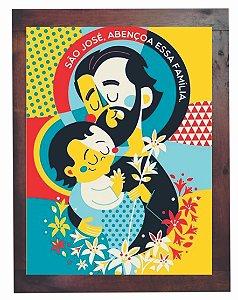 3093PG-039 Quadro Poster - São José