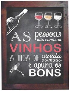 3093PG-042 Quadro Poster - Vinhos