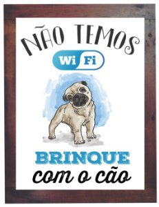 3093PG-043 Quadro Poster - Cão