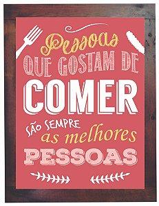 3093PG-044 Quadro Poster - Comer