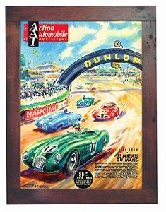 3093PG-050 Quadro Poster - Carro