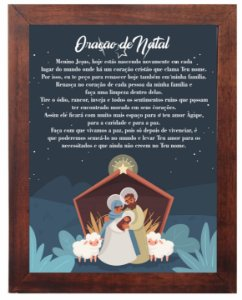 3093PG-051 Quadro Poster - Oração