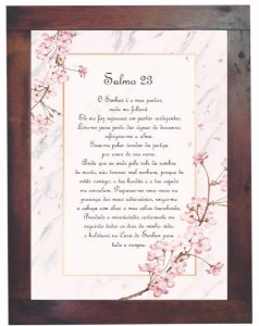 3093PG-053 Quadro Poster - Salmo 23