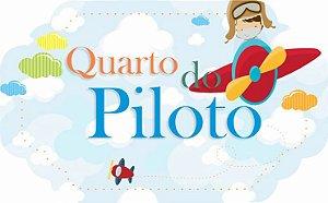 1703G-001 Placa MDF - Quarto piloto