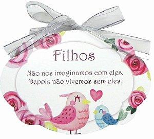 1704-004 Placa MDF - Filhos