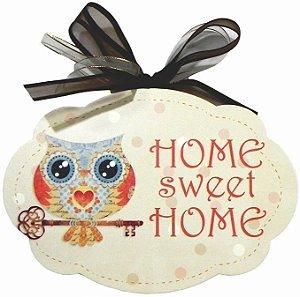 1704-005 Placa MDF - Home sweet home