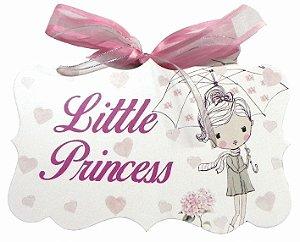 1706-010 Placa MDF - Little princess