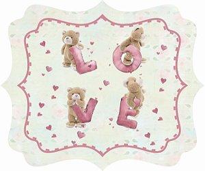 1721-005 Placa MDF - Love