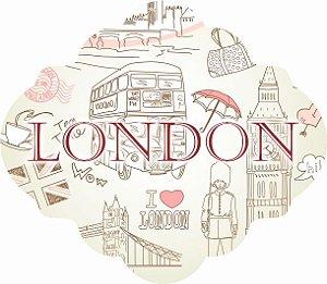 1739-004 Placa MDF - London