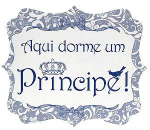1751 Placa MDF - Príncipe laços