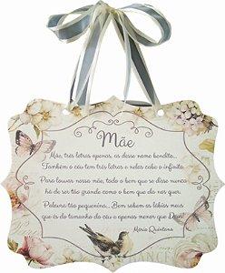 1785G Placa MDF - Mensagem mãe