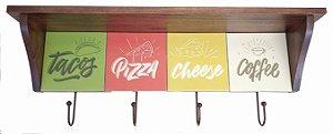 3014N-010 Prateleira de azulejo - Pizza