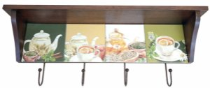 3014N-012 Prateleira de azulejo - Chá