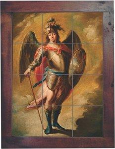3093AM-064 Quadro de azulejo - São Miguel Arcanjo