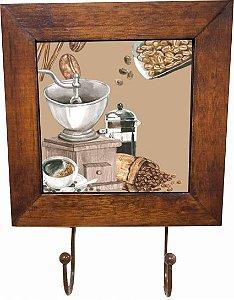 3011-008 Quadro cabideiro - Grão café