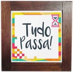 3094AP-022 Quadro de azulejo - Passa