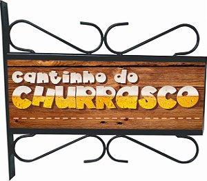3082-007 Placa Aramada - Churrasco