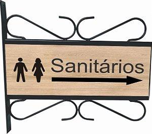3082-008 Placa Aramada - Sanitário
