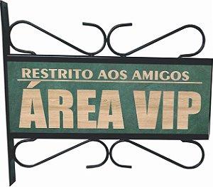 3082-010 Placa Aramada - VIP