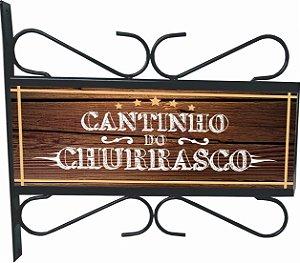 3082-011 Placa Aramada - Cantinho