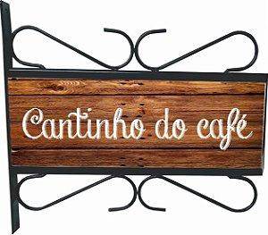 3082-012 Placa Aramada - Cantinho do café