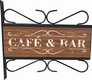 3082-015 Placa Aramada - Café