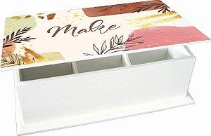 6004-010 Caixa de chá 6 divisórias - Make