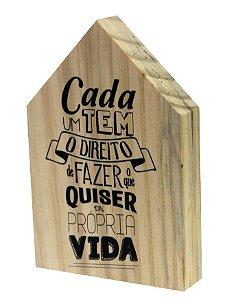 07-05-020 Decor Casinha - Vida