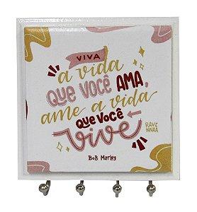 1470-042 Porta chaves Azulejo - Viva