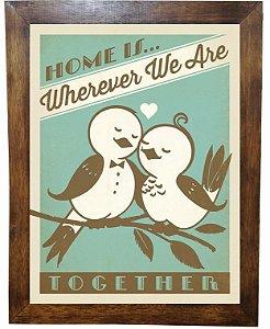 3093PG-079 Quadro Poster - Home