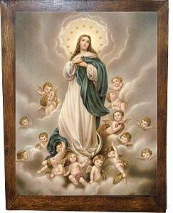 3093PG-086 Quadro Poster - Nossa Senhora