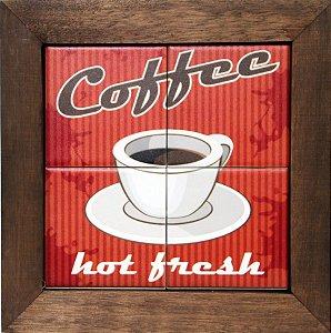 3094AP-027 Quadro de azulejo - Coffee