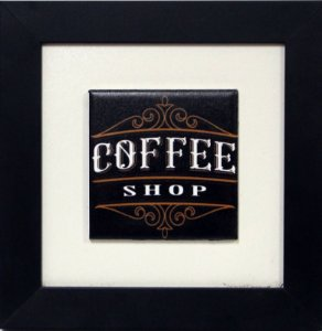 3001-026 Quadro de azulejo Decor - Coffee