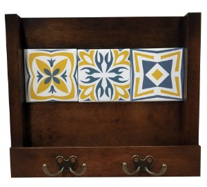 2100-001 Porta Cartas / Chaves - Amarelo