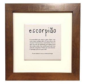 3001M-015 Quadro decor - Escorpião
