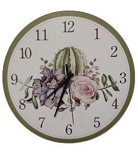 1700-040 Relógio Redondo - Cacto