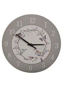 1700-039  Relógio Redondo - Pássaro