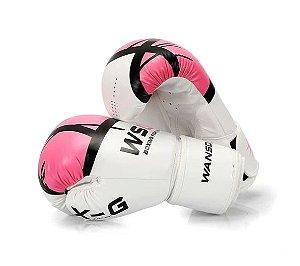 Luvas de boxe estilo WSD Pro – Boxe, MMA, Muay Thai (4 Cores