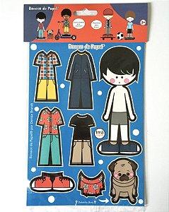 Boneco de Papel® Magnético 01