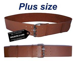 Cinto Feminino Plus Size 7cm Couro Ecologico 3 Pinos Hv