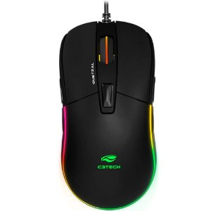 MOUSE GAMER  OPTICO USB QUETZAL MG-510BK PRETO C3TECH
