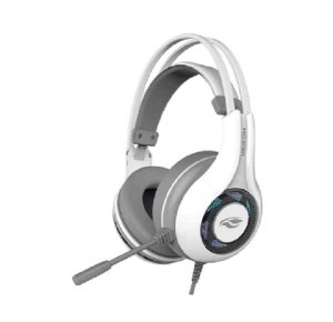 Headset USB Gamer 7.1 Heron Ph-g701 Branco C3tech
