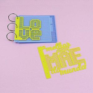 Acessórios para Mini Álbum Eco Tela Tapeçaria 15x15cm