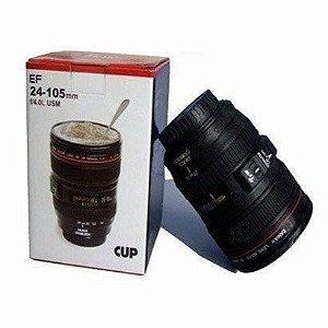 Copo Câmera Aço Inoxidavel 350 ml